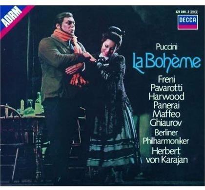 Herbert von Karajan & Giacomo Puccini (1858-1924) - La Boheme (Japan Edition)