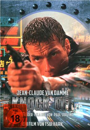 Knock Off (1998) (Cover B, Limited Edition, Mediabook, Uncut, Blu-ray + DVD)