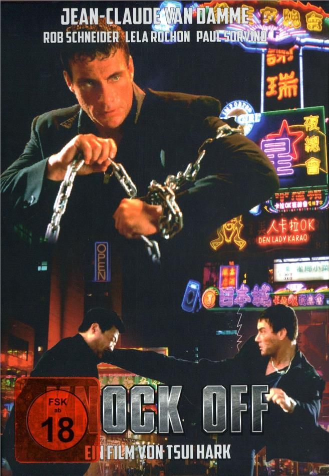 Knock Off (1998) (Cover C, Limited Edition, Mediabook, Uncut, Blu-ray + DVD)