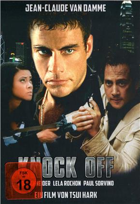 Knock Off (1998) (Cover D, Limited Edition, Mediabook, Uncut, Blu-ray + DVD)