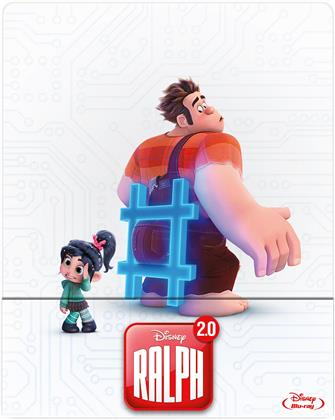 Ralph 2.0 - Les mondes de Ralph 2 (2018) (Limited Edition, Steelbook)