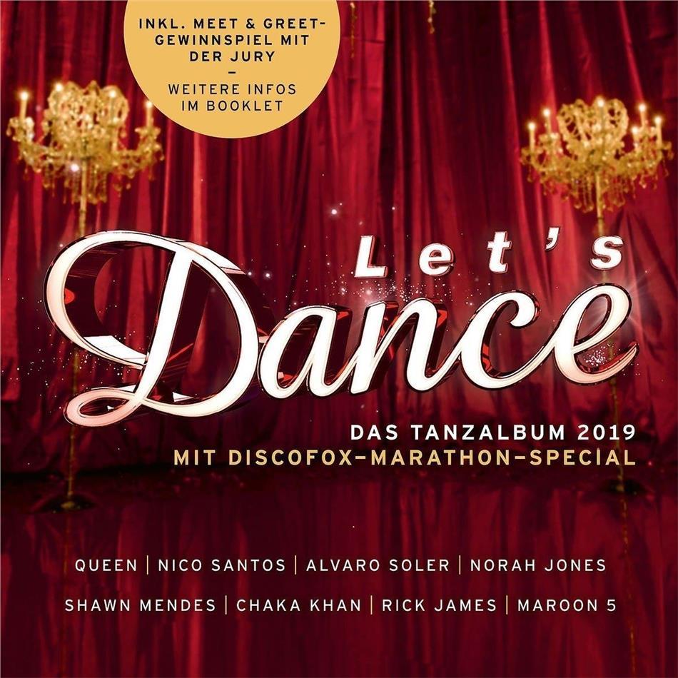 Let's Dance-Das Tanzalbum - Das Tanzalbum 2019 (2 CDs)