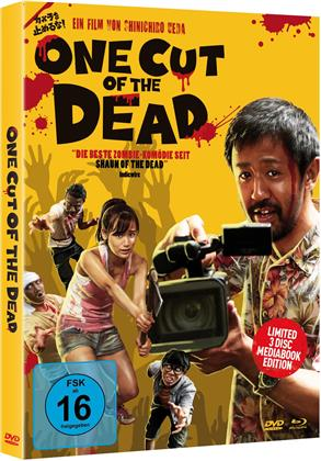One Cut of the Dead (2017) (Cover B, Mediabook, Blu-ray + 2 DVDs)