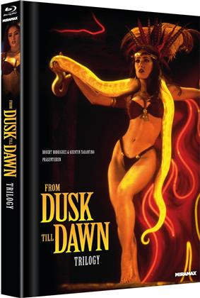 From Dusk till Dawn Trilogy (Cover B, Limited Edition, Mediabook, Uncut, 4 Blu-rays)