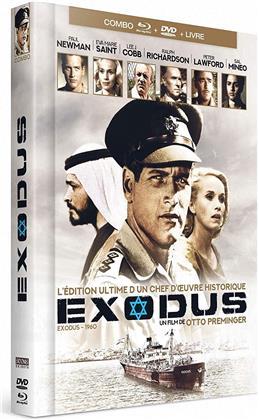 Exodus (1960) (Mediabook, Blu-ray + DVD)