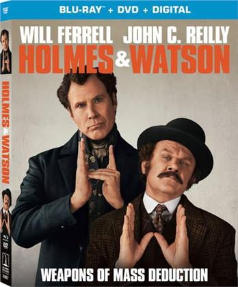 Holmes & Watson (2018) (Blu-ray + DVD)