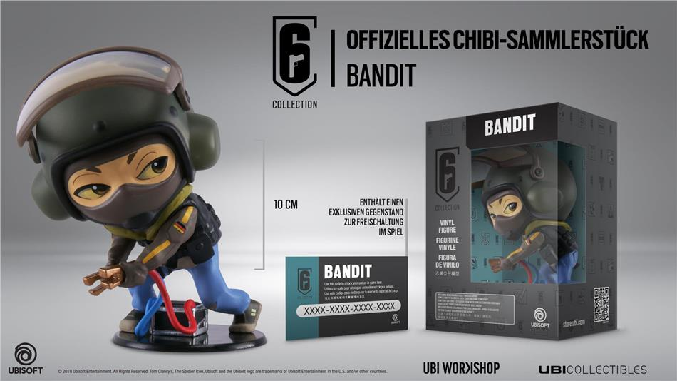 Rainbow Six Siege Collection Bandit