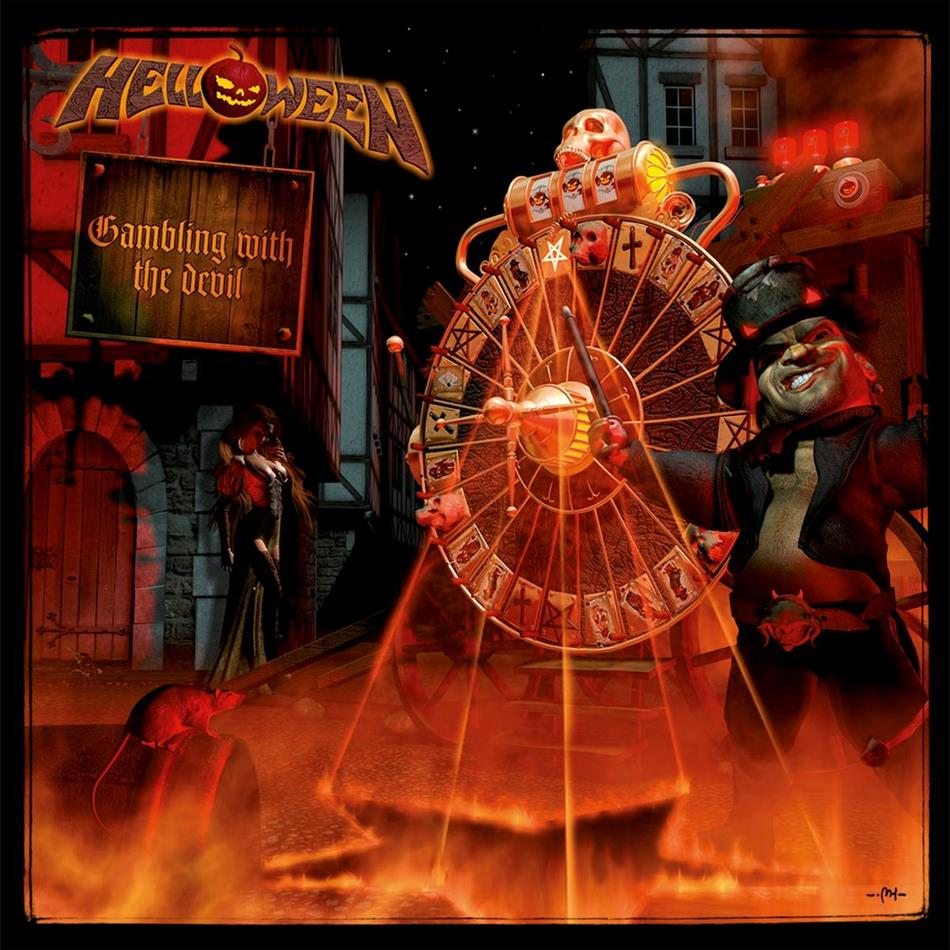 Helloween - Gambling With The Devil (2019 Reissue, Gatefold, Clear Vinyl, 2 LPs)