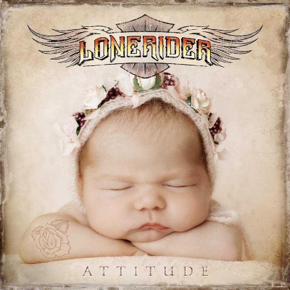 Lonerider - Attitude (Transparent Gold Vinyl, 2 LPs)