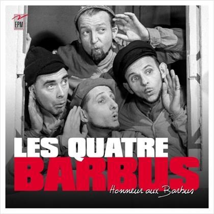 Les Quatre Barbus - Honneur aux barbus ! (Digipack, 4 CDs)