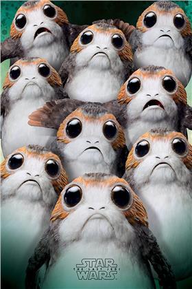 Star Wars The Last Jedi Many Porgs Maxi Poster
