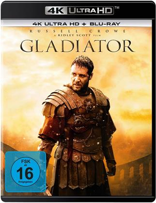 Gladiator (2000) (Extended Edition, Versione Cinema, 4K Ultra HD + Blu-ray)