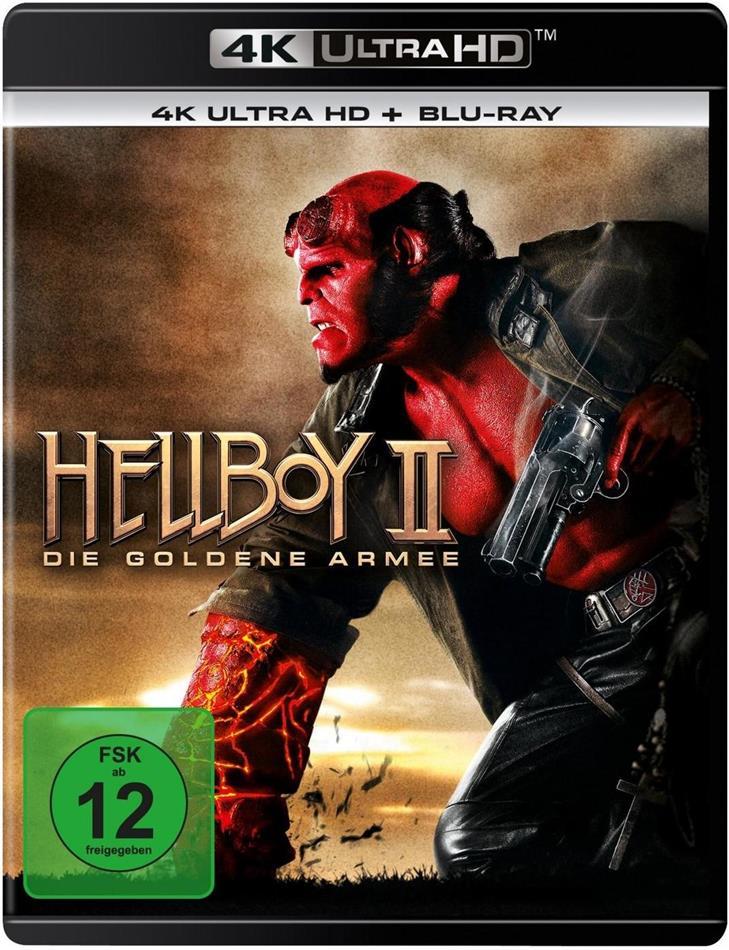 Hellboy 2 - Die Goldene Armee (2008) (4K Ultra HD + Blu-ray)