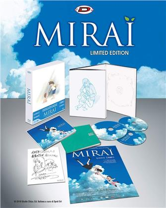 Mirai (2018) (Limited Edition, 2 Blu-rays + DVD)