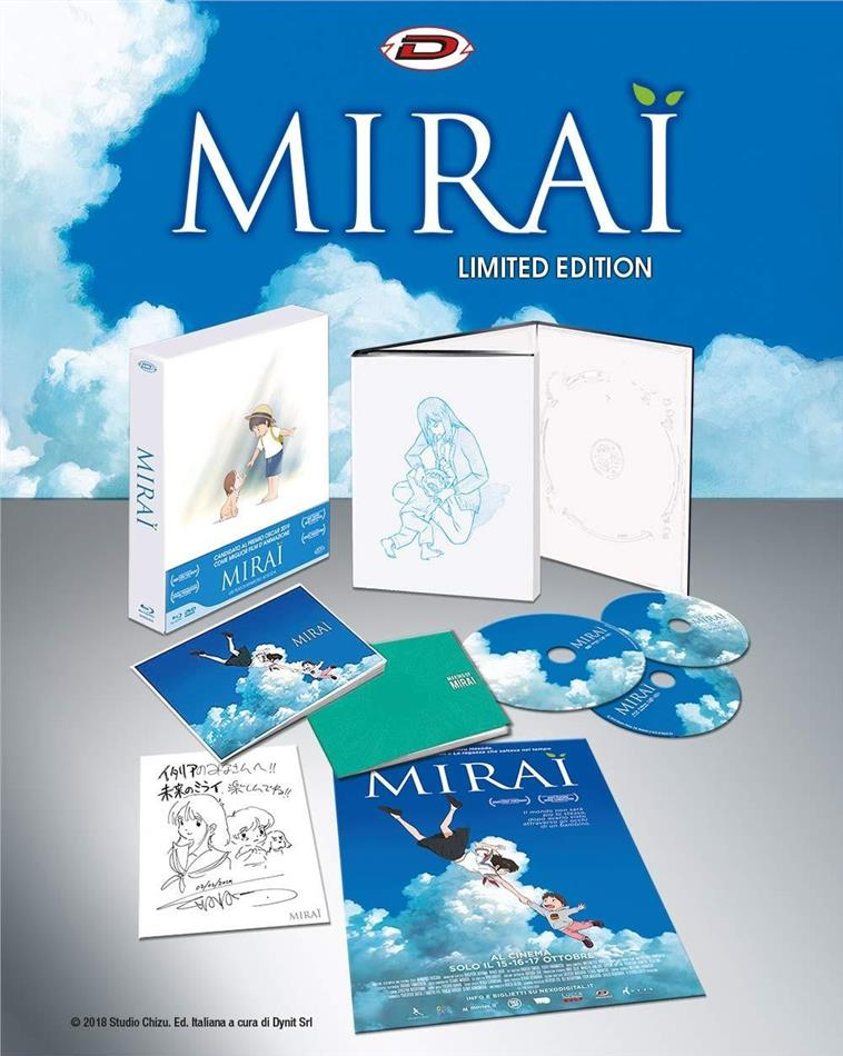 Mirai (2018) (Edizione Limitata, 2 Blu-ray + DVD)