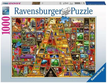 """Awesome Alphabet """"A"""" - 1000 Teile Puzzle"""