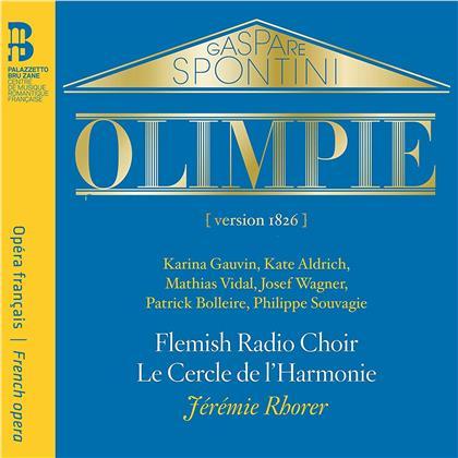 Gaspare Spontini (1774-1851), Jérémie Rhorer & Le Cercle de L'Harmonie - Olimpie (2 CDs)