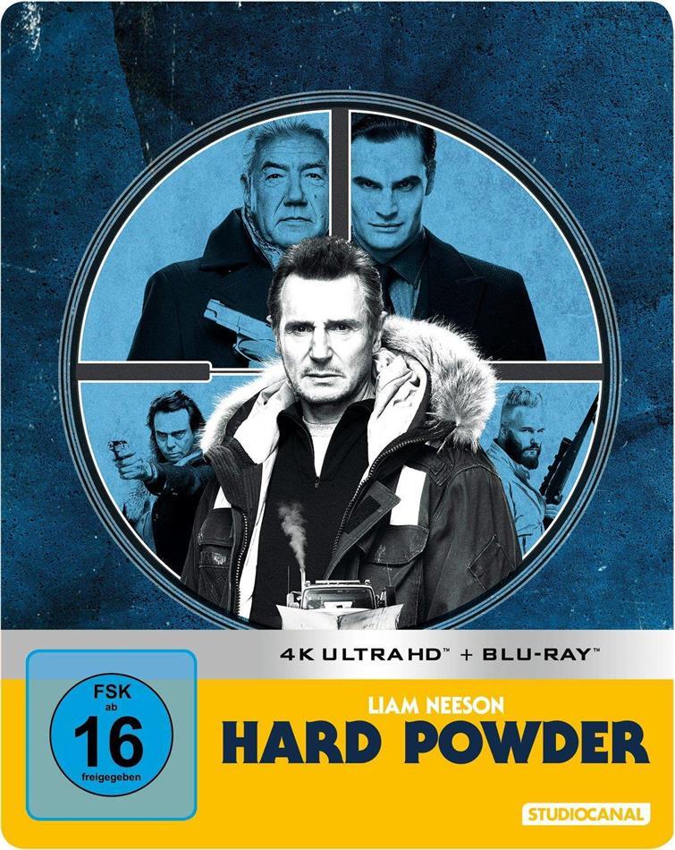 Hard Powder (2019) (Limited Edition, Steelbook, 4K Ultra HD + Blu-ray)