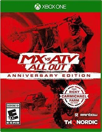 Mx Vs Atv All Out - Anniversary Edition