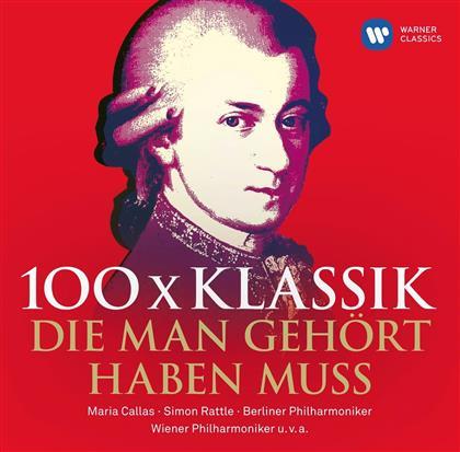 100 x Klassik, die man gehört haben muss (6 CDs)