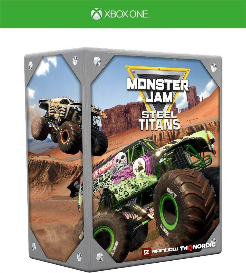 Monster Jam Steel Titans (Édition Collector)
