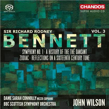 Sir Richard Rodney Bennett (1936-2012), John Wilson, Dame Sarah Connolly & BBC Scottish Symphony Ochestra - Sir Richard Rodney Bennett Vol. 3 (Hybrid SACD)