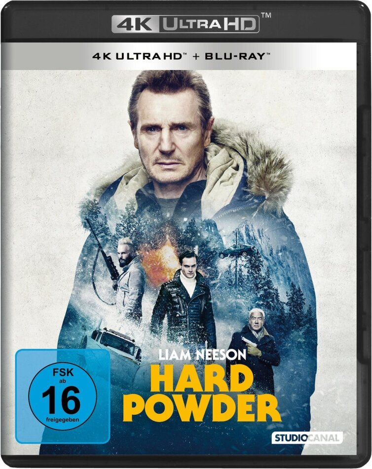 Hard Powder (2019) (4K Ultra HD + Blu-ray)