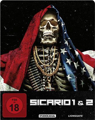 Sicario (2015) / Sicario 2 - Soldado (2018) (Limited Edition, Steelbook)
