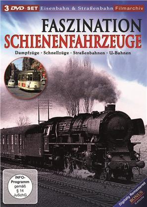 Faszination Schienenfahrzeuge (3 DVDs)
