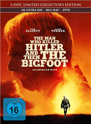 The Man Who Killed Hitler and Then The Bigfoot (2018) (Collector's Edition, Edizione Limitata, Mediabook, 4K Ultra HD + Blu-ray + DVD)