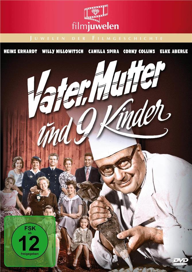 Vater, Mutter und neun Kinder (1959) (Filmjuwelen)