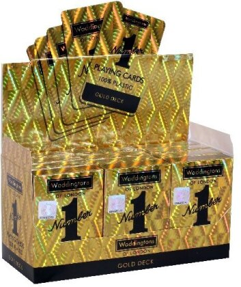 Waddingtons Classic Gold Number 1 Playing Cards