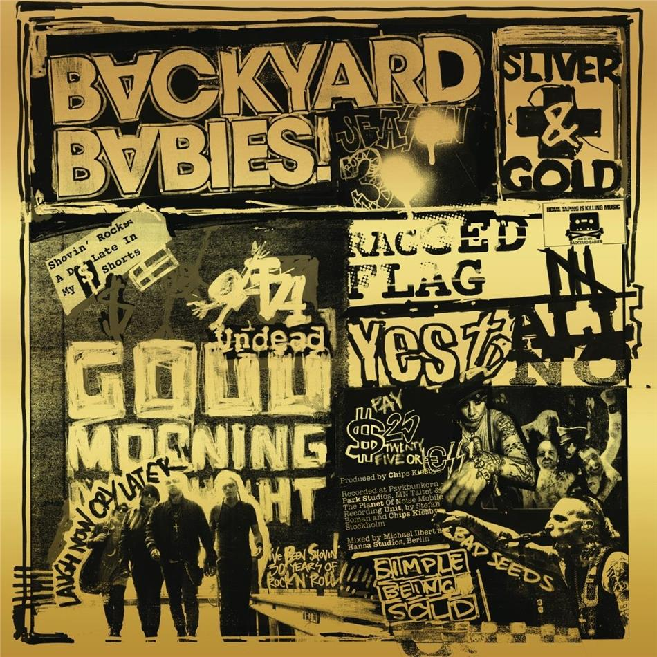 Backyard Babies - Sliver & Gold (LP)