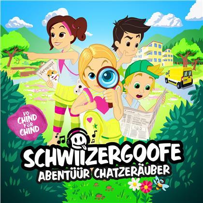 Schwiizergoofe - Abentüür Chatzenräuber (Hörspiel) (2 CDs)