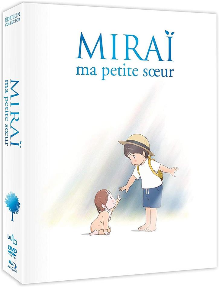 Miraï ma petite soeur (2018) (Collector's Edition, Limited Edition, Blu-ray + DVD)
