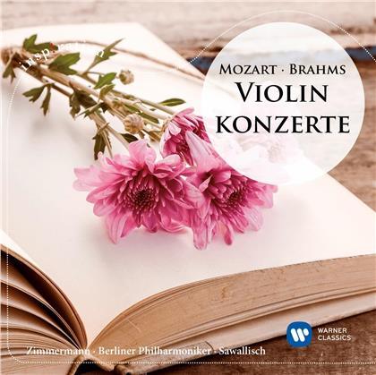 Frank Peter Zimmermann, Wolfgang Sawallisch, Berliner Philharmoniker, Johannes Brahms (1833-1897) & Wolfgang Amadeus Mozart (1756-1791) - Violinkonzerte