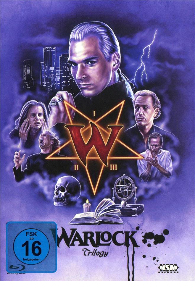 Warlock 1-3 - Trilogy (Cover D, Limited Edition, Mediabook, 3 Blu-rays)