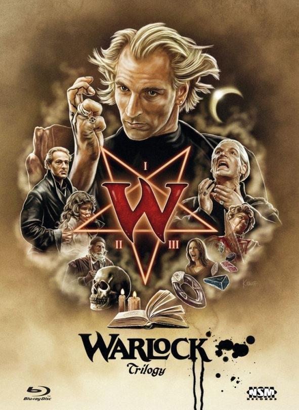 Warlock 1-3 - Trilogy (Cover B, Limited Edition, Mediabook, 3 Blu-rays)