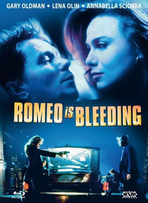Romeo Is Bleeding (1993) (Cover C, Limited Edition, Mediabook, Blu-ray + DVD)
