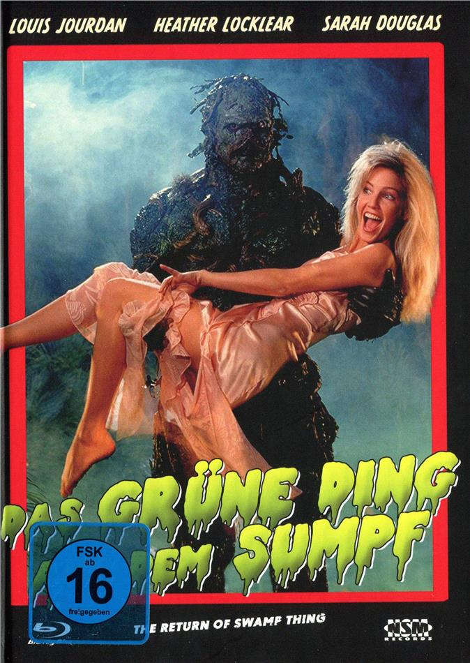 Das grüne Ding aus dem Sumpf (1989) (Cover D, Limited Edition, Mediabook, Blu-ray + DVD)