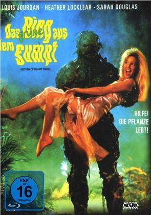 Das grüne Ding aus dem Sumpf (1989) (Cover A, Limited Edition, Mediabook, Blu-ray + DVD)
