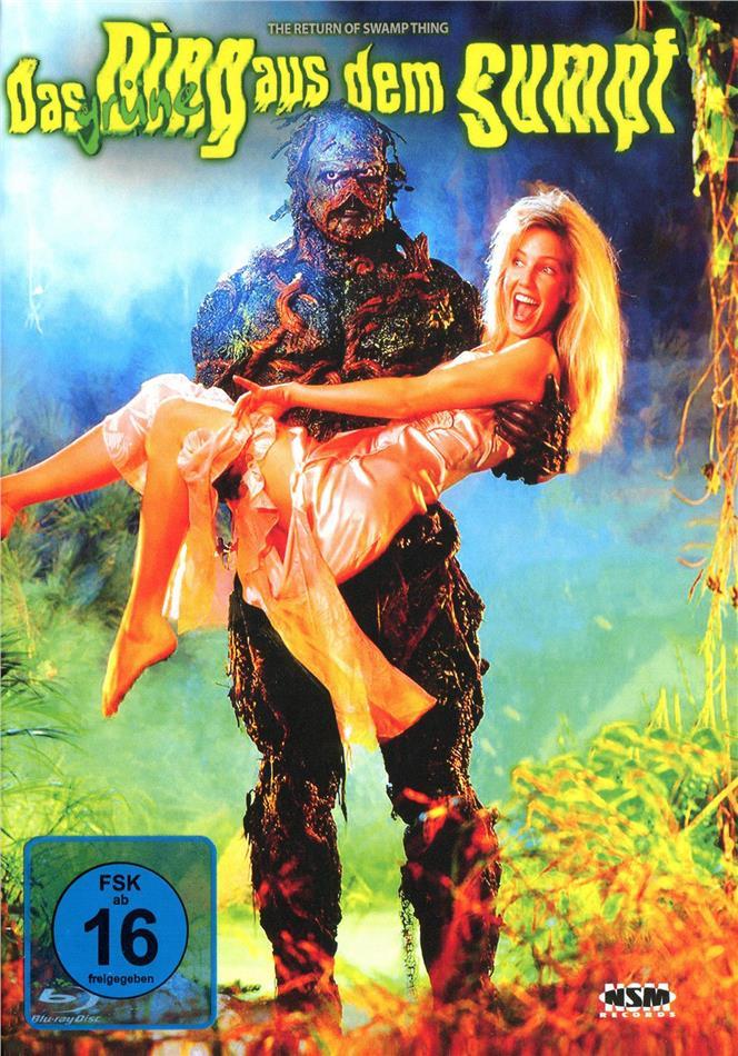 Das grüne Ding aus dem Sumpf (1989) (Cover C, Limited Edition, Mediabook, Blu-ray + DVD)