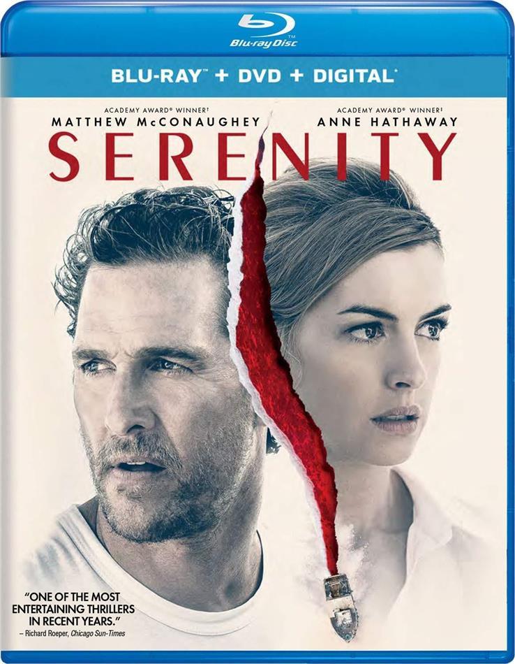 Serenity (2019) (Blu-ray + DVD)