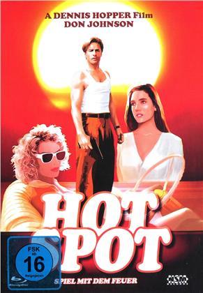 Hot Spot - Spiel mit dem Feuer (1990) (Cover C, Limited Edition, Mediabook, Blu-ray + DVD)
