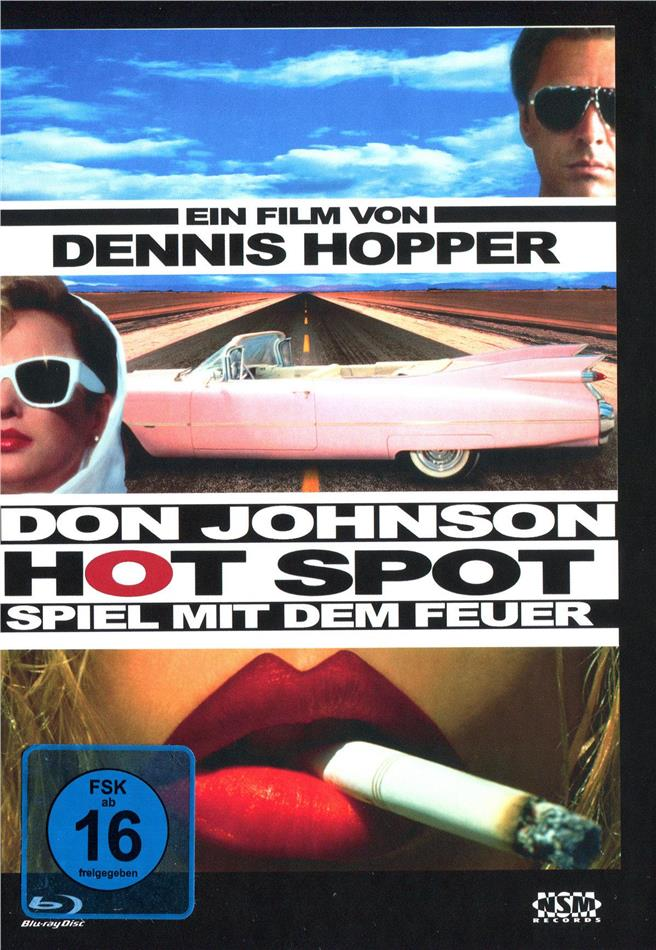 Hot Spot - Spiel mit dem Feuer (1990) (Cover D, Limited Edition, Mediabook, Blu-ray + DVD)