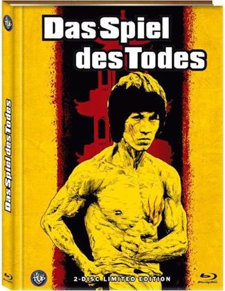 Das Spiel des Todes (1978) (Cover B, Edizione Limitata, Mediabook, Blu-ray + DVD)