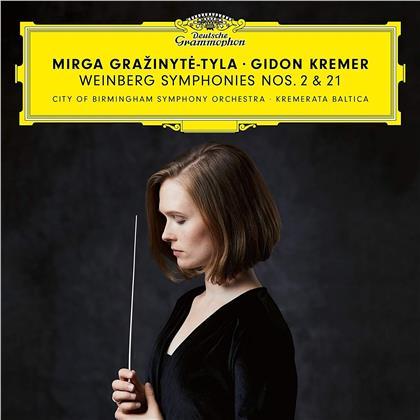 Kremerata Baltica, Mieczyslaw Weinberg (1919-1996), Mirga Grazinyte-Tyla & City of Birmigham Symphony Orchestra - Symphonien Nr. 2 & 21 (2 CDs)
