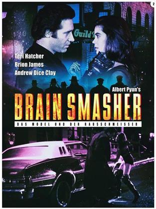Brain Smasher - Das Model und der Rausschmeisser (1993) (Cover B, Edizione Limitata, Mediabook, Uncut, Blu-ray + DVD)
