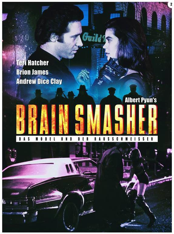 Brain Smasher - Das Model und der Rausschmeisser (1993) (Cover B, Limited Edition, Mediabook, Uncut, Blu-ray + DVD)