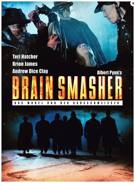 Brain Smasher - Das Model und der Rausschmeisser (1993) (Cover C, Limited Edition, Mediabook, Uncut, Blu-ray + DVD)